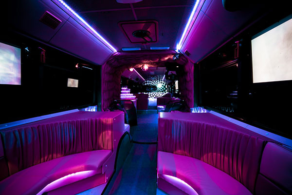 Party bus transfer